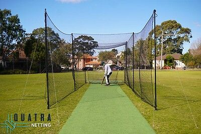 Backyard Cricket Practice Cage 10m x 3m - Complete set