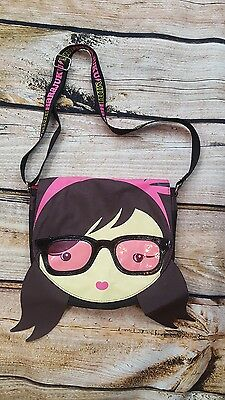Harajuku Mini Girls Messenger Face Bag