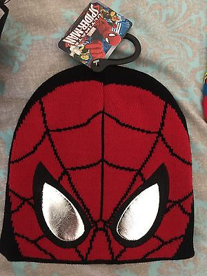 BNWT Licenced Spiderman BEANIE 55CM's! Perfect For Winter!