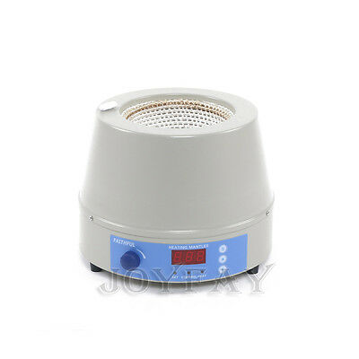1000ml Electric Digital Heating Mantle with Magnetic Stirrer 110V 350W