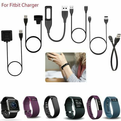 For Fitbit Alta Blaze Charge HR Surge Flex 2 Force USB Charger Charging Cable