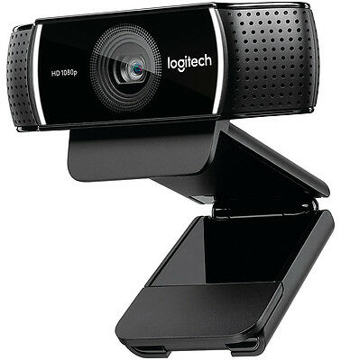 Logitech C922X Pro Stream Webcam 1080P Built-In Stereo Mics Background Removal