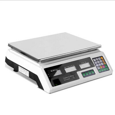 i.Precision Kitchen Scale Digital Commercial Shop Electronic Weight Scales 40KG