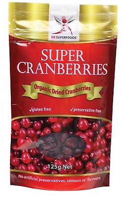 Dr Superfoods Super Cranberries 125g