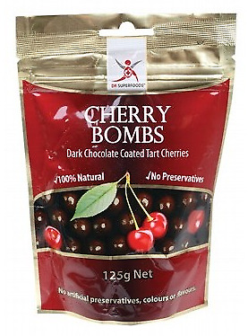 Dr Superfoods Dark Chocolate Cherries (Dairy Free) 125g