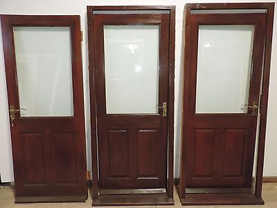 exterior hardwood door picclick uk
