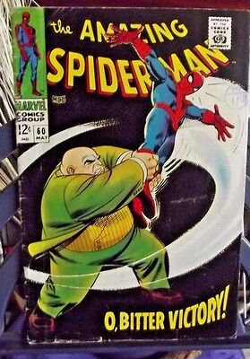 Marvel Comics Group Present The Amazing Spider-Man Vol 1 #60 May 1968