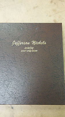 Dansco Jefferson Nickels #8133, 1909 V.D.B. - 2016S Including Proof-Only Issues