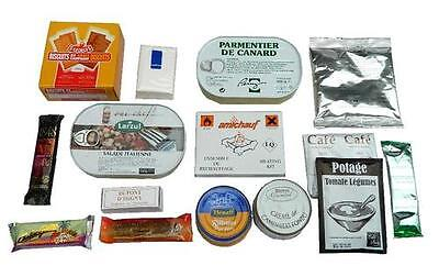 Ration Pack RCIR French Military Army MRE NATO Approved 24 Hour Ration - Sealed