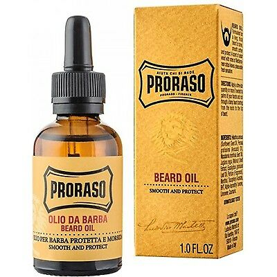 PRORASO Huile pour Barbe lisse & protège - 30ml