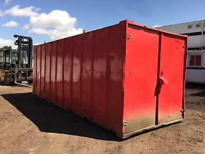 Steel Storage Container 20ft by 8ft Anti Vandal (More Available)