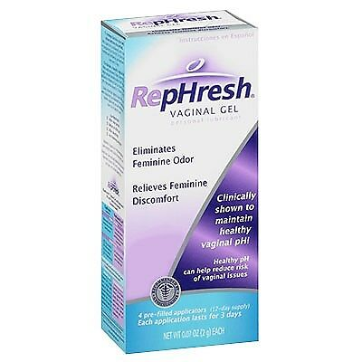 RepHresh Gel Vaginal 3 applicateurs à usage unique