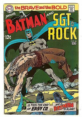 Brave And The Bold 84   Batman & Sgt. Rock   Neal Adams