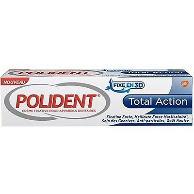 POLIDENT Total Action Crème Fixative 40g