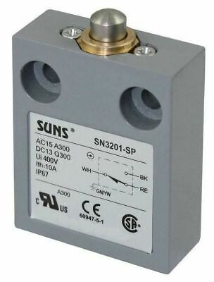 SUNS SN3201-SP-C1 Plunger Limit Switch for 914CE1-AQ1
