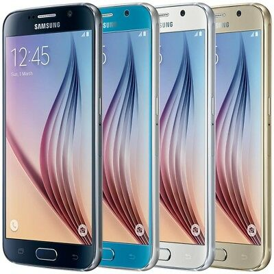 Samsung Galaxy S6 32GB - GSM Unlocked - AT&T T-Mobile 4G Smartphone G920P Colors
