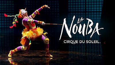 1-8 Cirque du Soleil La Nouba Tickets LOWER Level Orlando, FL - PICK A DATE/TIME