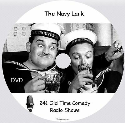 THE NAVY LARK - 241 Old Time Comedy Radio Shows on DVD