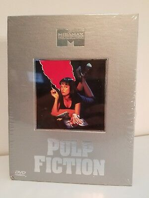 Pulp Fiction Classic Collection - 2 DVDs, Soundtrack, Booklet, Poster - New Box