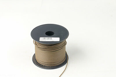 Building Wire Electrical Cable 0.1mm2 PVC Insulated 100m Roll of Brown Cables