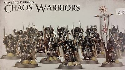 Warhammer Age Sigmar, Slaves To Darkness Warriors, 16 CHAOS WARRIOR Regiment New