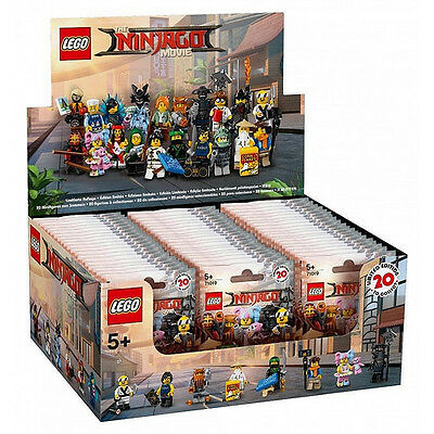SELECT ANY LEGO Minifigure The Ninjago Movie - New - 71019 - Complete