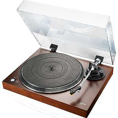 Lenco L90 Walnut Premium Home-User Wooden Turntable with USB Connection / NEW