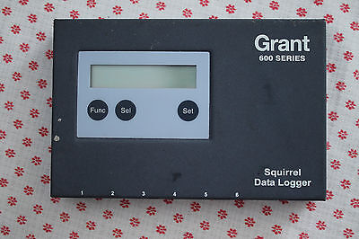Grant 600 Series Squirrel Data Logger OQ610 - Used Condition