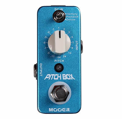 Mooer Audio Pitchbox Pitch Shifter Guitar Effect Pedal