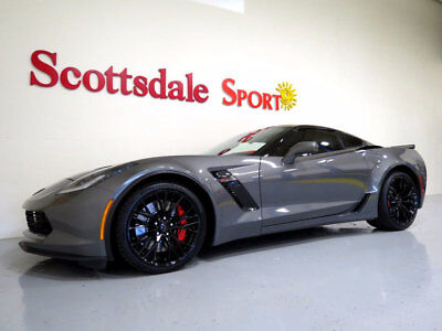 2016 Chevrolet Corvette 3K MILES, 3LZ, 7SP MANUAL, BLK ROOF PANEL, AS NEW! 2016 CORVETTE Z06 CPE * 3K MILES, 3LZ, 7sp MANUAL, BLK WHLS, BLK ROOF, AS NEW!!