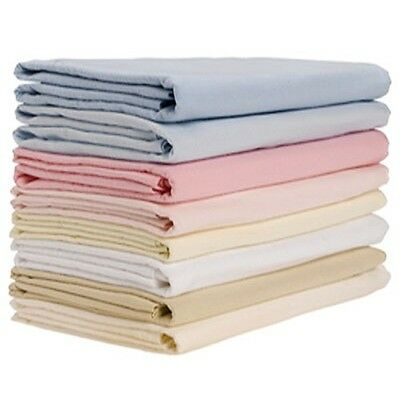 100% Cotton Soft Jersey Fitted Sheets Double and King Fitted Only