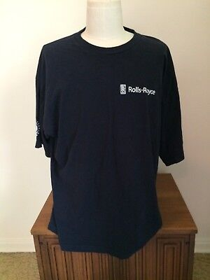 Rolls Royce Indianapolis Factory Employee T-shirt 3X