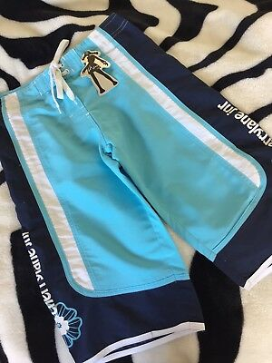 Girls size 8 Long Summer Board shorts - Swimwear - Great Protection New
