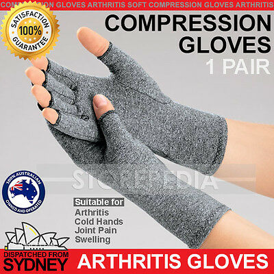 Compression Gloves Arthritis Pain Relief Joint Finger Carpal Tunnel Hand Wrist