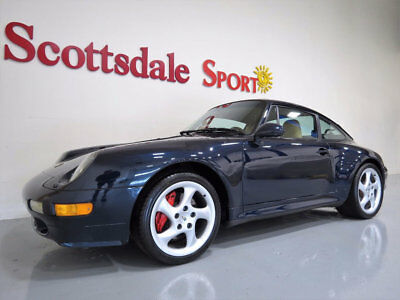 "1997 Porsche 911 6SP MANUAL, 18"" TURBO TWIST WHLS, FLAWLESS EXAMPLE 1997 PORSCHE 993 4S WIDEBODY, 6SP MANUAL, OCEAN BLUE, SHOWROOM NEW!!"
