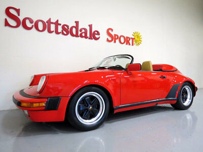 1989 Porsche 911 CONCOUR QUAILITY RECONDITIONING 2017. DOCUMENTATIO 1989 PORSCHE SPEEDSTER * 22K MILES * FRESHLY RESTORED to HIGHEST STANDARDS