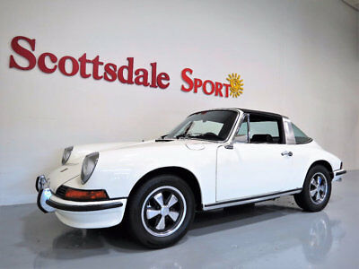 "1973 Porsche 911 ONLY 54K MILES,1/2 YR PRODUCTION BOSCH ""CIS"" INJEC 73 1/2 PORSCHE 911 T 2.4L CIS TARGA * ONLY 54K Mi * FULL RESTORATION 2016, COA"