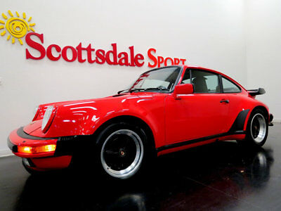 1988 Porsche 911 29K MILES * GUARDS RED on BLACK LTHR * COLLECTOR G 88 PORSCHE 930 w 29K MILES, GUARDS RED on BLACK LTHR * MUSEUM QUALITY COND!!
