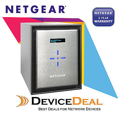 NETGEAR RN524X00 ReadyNAS 524X - 4 Bay NAS - Intel D1508 Dual Core 2.2GHz