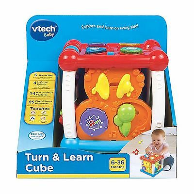 Vtech Baby Turn and Learn Cube VT5116