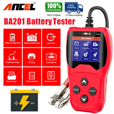 Car 12V 24V battery voltage Car Circuit Tester AVOmeter open short circuit test