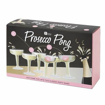 Talking Tables Prosecco Pong Drinking Game Fizz Alcohol Beer Hen Stag Do Party