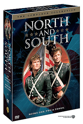 North and South: The Complete TV Series Books Season 1 2 3 Boxed DVD Set NEW!