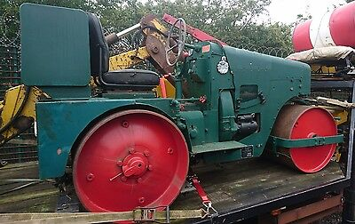 Aveling road cricket roller