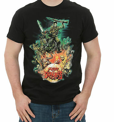 Army Of Darkness Designed By Graham Humphreys T-Shirt US-Size Small