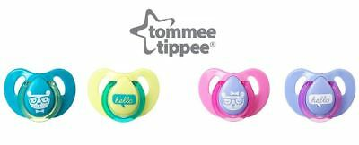 Tommee Tippee Decorated Cherry Soothers (6-18 months) - Boys or Girls