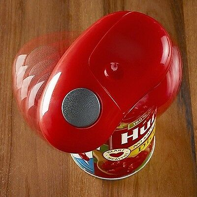 Electric Automatic Hands free Can Tin Opener Multi-function Battery Operated