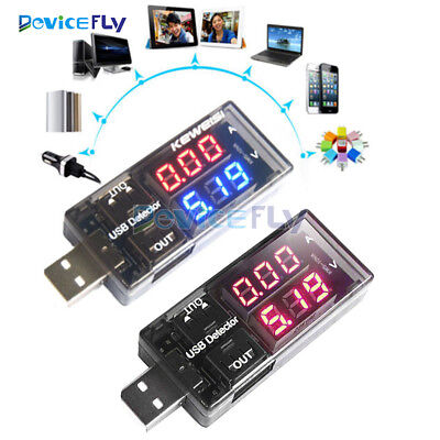USB Charger Doctor Voltage Current Meter Handy Battery Tester Power Detector
