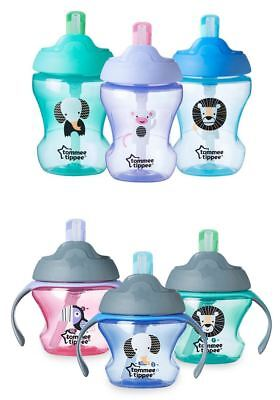 Tommee Tippee Training Straw Cup - Choose Boys or Girls, Age, and Quantity