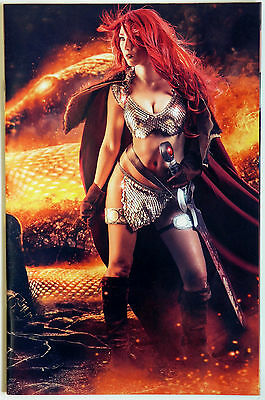 Red Sonja #2 Vol 4 Variant Virgin Cosplay Cover E Dynamite Entertainment Amy Chu